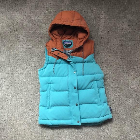 9e430c860 Patagonia Women's Bivy Hooded Vest (Mogul Blue)